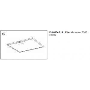 Filter aluminium F380