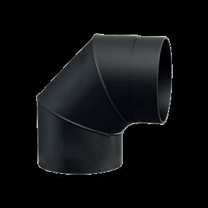 Rökrör Vinkel 1-90 120mm