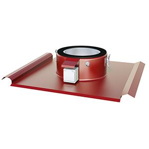 TGÖ Profil T-Röd 200 Takgenomföring