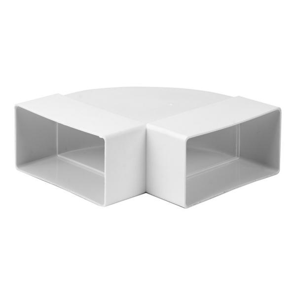 Böj 90 110x55 Plast Rektangulär KLH