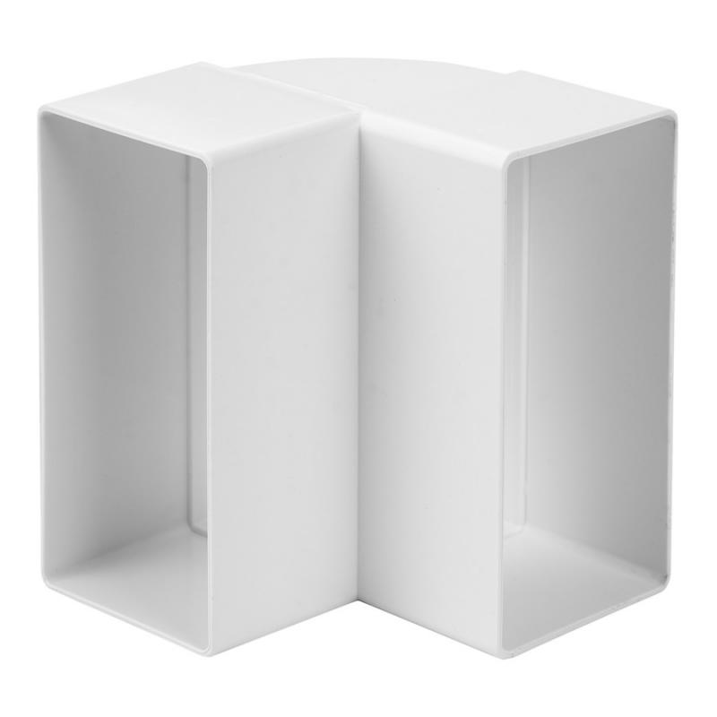 Plastböj 90 55x110 Plast Rektangulär KLV