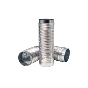 Aluminiumslang 100mm L3m M-M