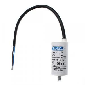 Kondensator 4µF med Bult