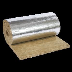 Lamellmatta med armerad alu-folie 100 mm