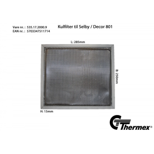 Thermex Selby Kolfilter