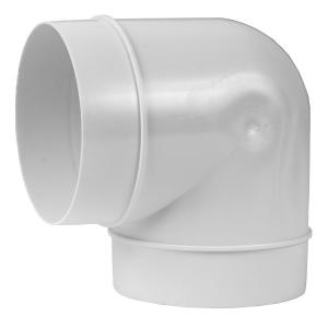 Böj 90 125mm Plast AL125-90