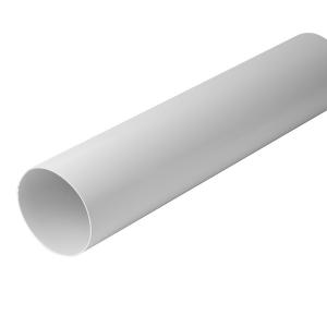 Plaströr 125 mm L 1m Plast