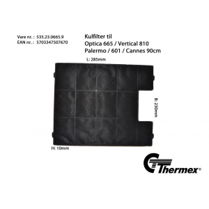 Thermex kolfilter...