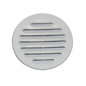 Ytterväggsgaller 100 mm Vit