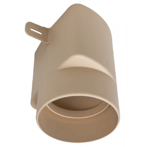 ROSS-ADAPTER Ø125/110 BEIGE